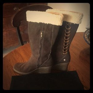 Ugg Wedge Boots size 9